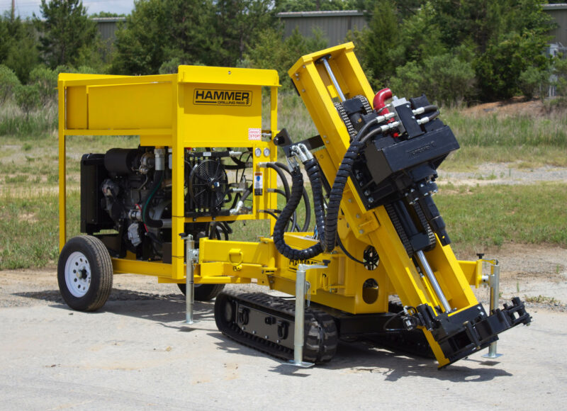 K40 Low Headroom Drill Rig