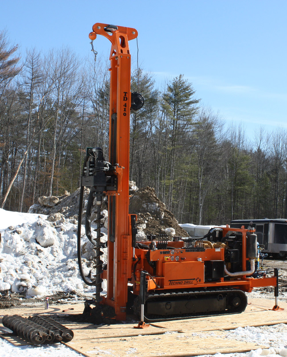 micropiling drilling rig