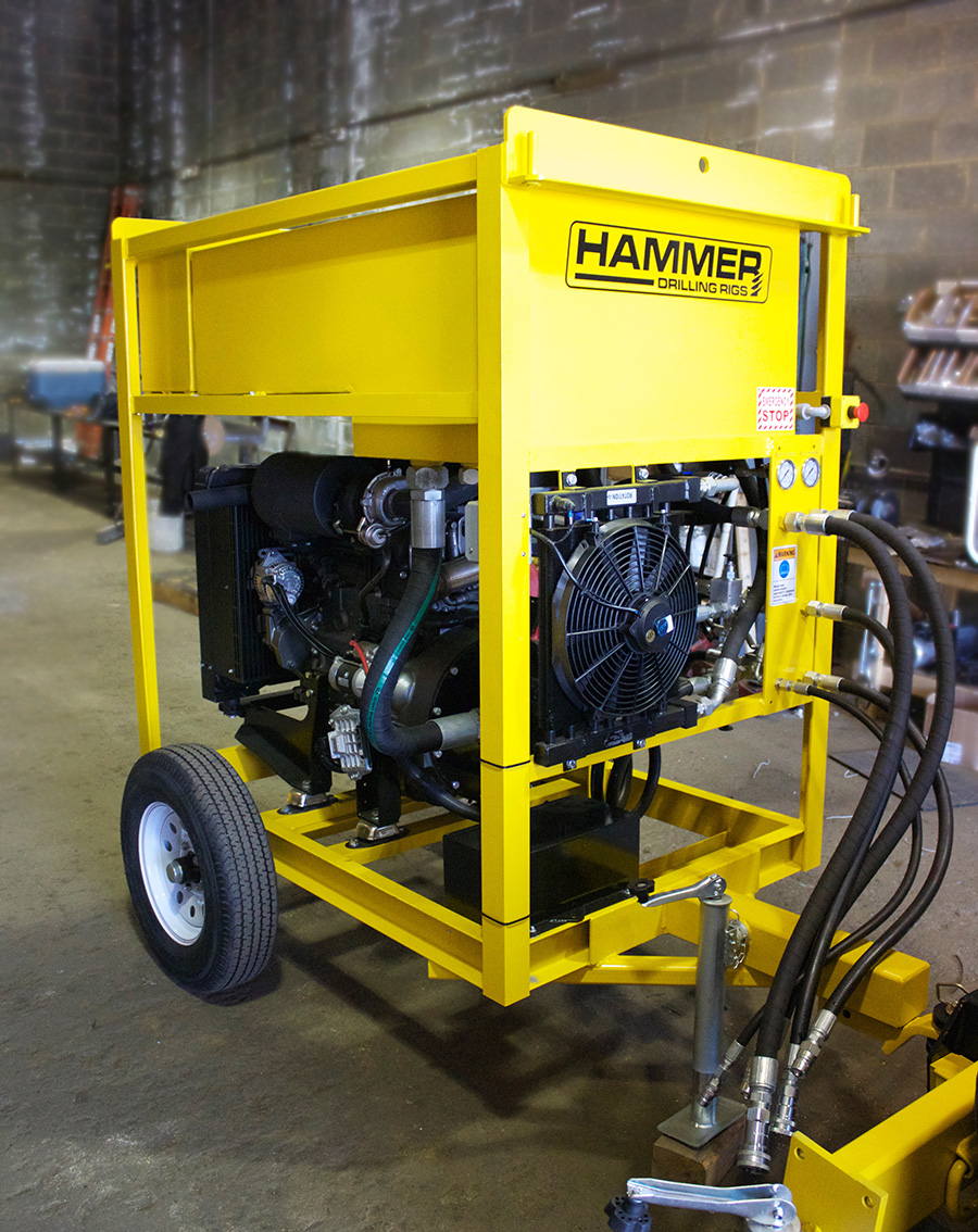Hammer Drilling Rigs Hydraulic Power Unit