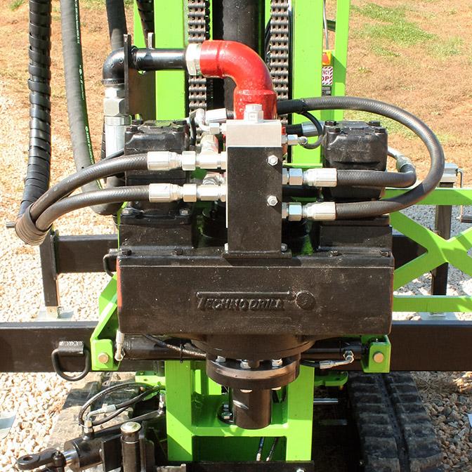 JT200 Series Micropiling drill head